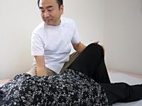 ひざの施術