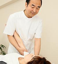 肩甲骨周辺の施術
